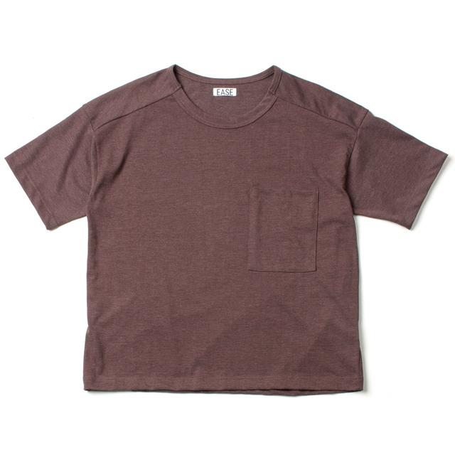 WHARF T-SHIRT_BROWN