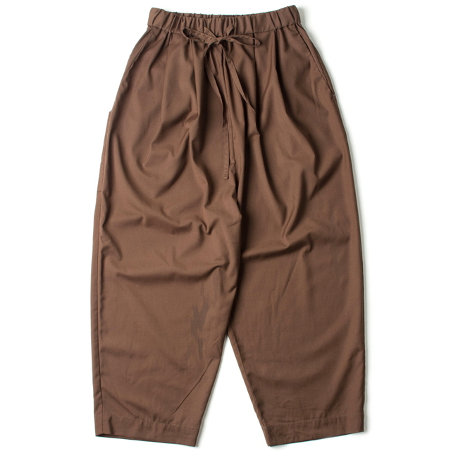 WHARF PANTS 2_BROWN