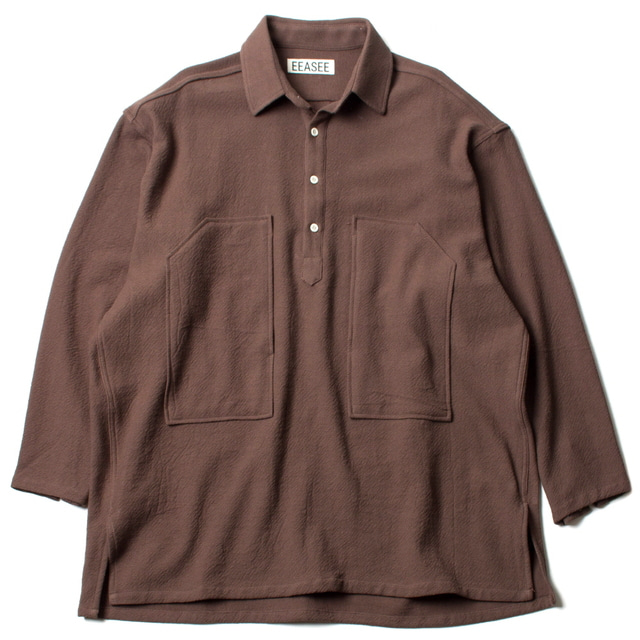 DOBI WHARF SHIRT_BROWN