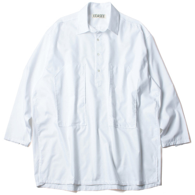 DRESS WHARF SHIRT_WHITE
