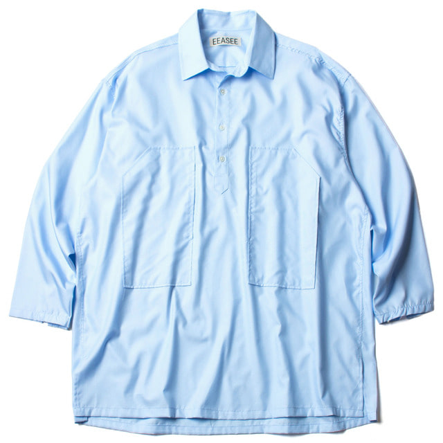 DRESS WHARF SHIRT_BLUE