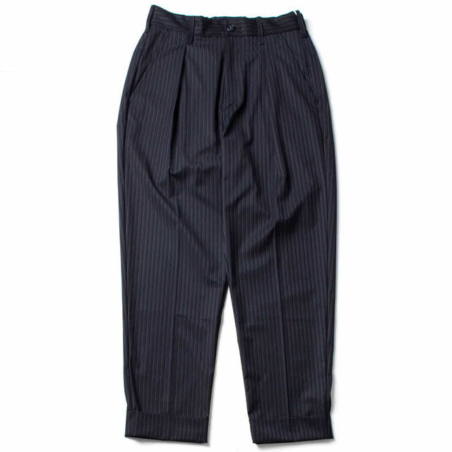 UTILTY TROUSER_NAVY STRIPE