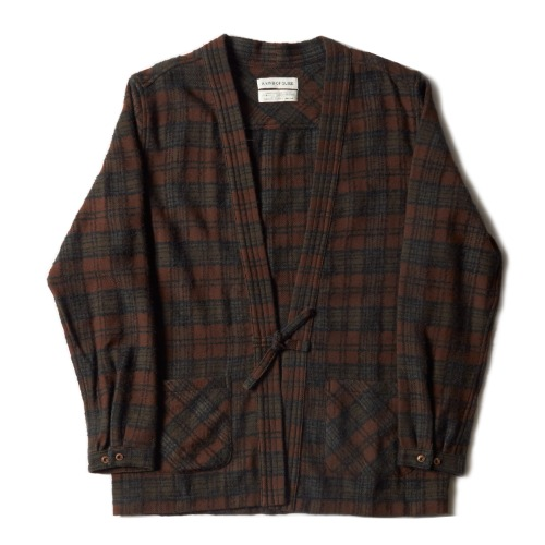 KOHAKU CARDIGAN_BROWN