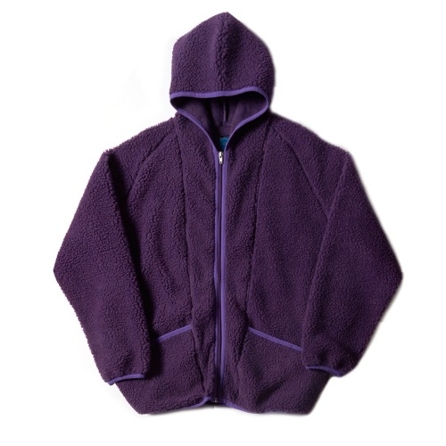 V-HOODY JACKET_PURPLE
