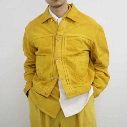 SUNDAE JACKET_JACKFRUIT YELLOW