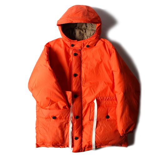 NYLON SILK DOWN BLOUSON_ORANGE