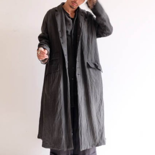 CHRONO COAT_CHARCOAL
