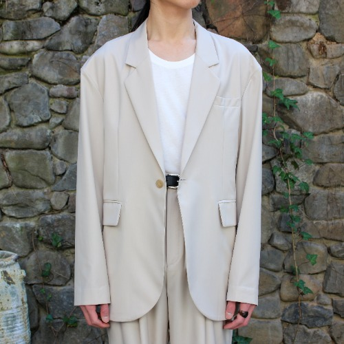 OVERSUIT JACKET_BEIGE
