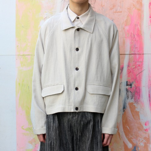 SHORT SHIRT JACKET_NATURAL
