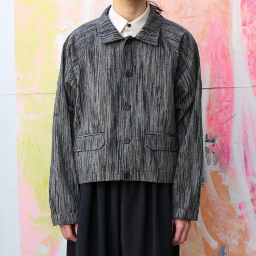 SHORT SHIRT JACKET_STRIPE