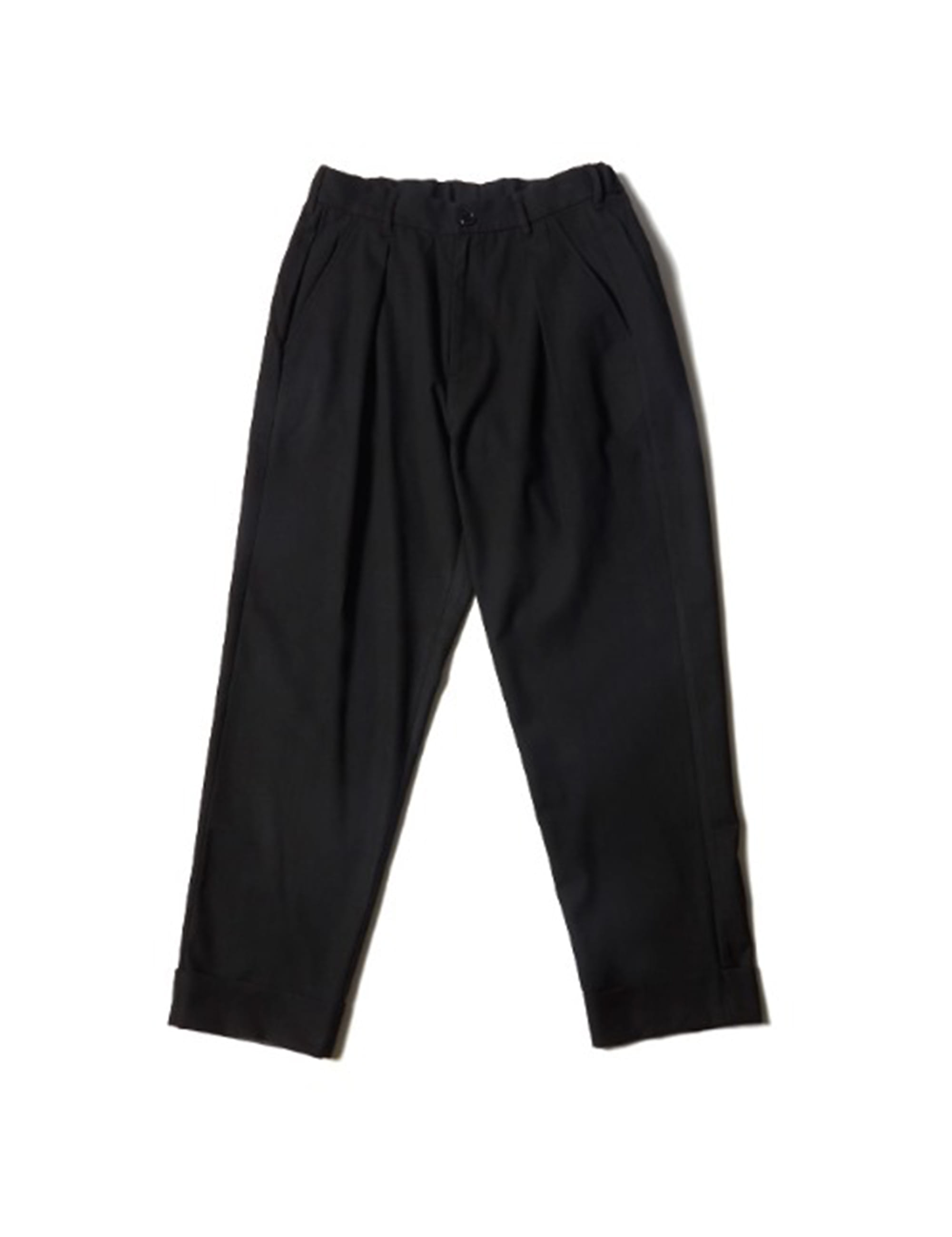 UTILITY TROUSER_SOLID BLACK