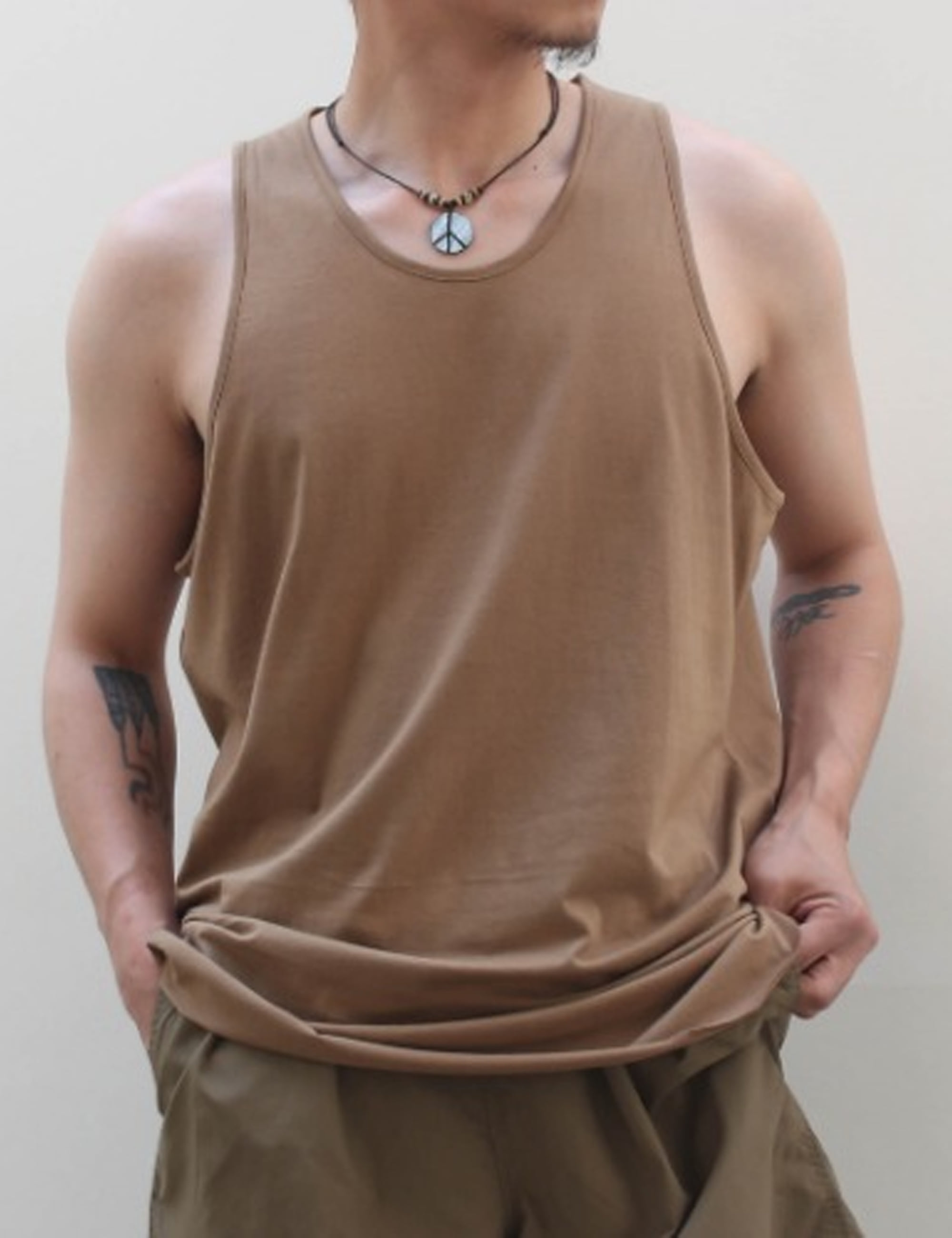TANK TOP_DARKSAND