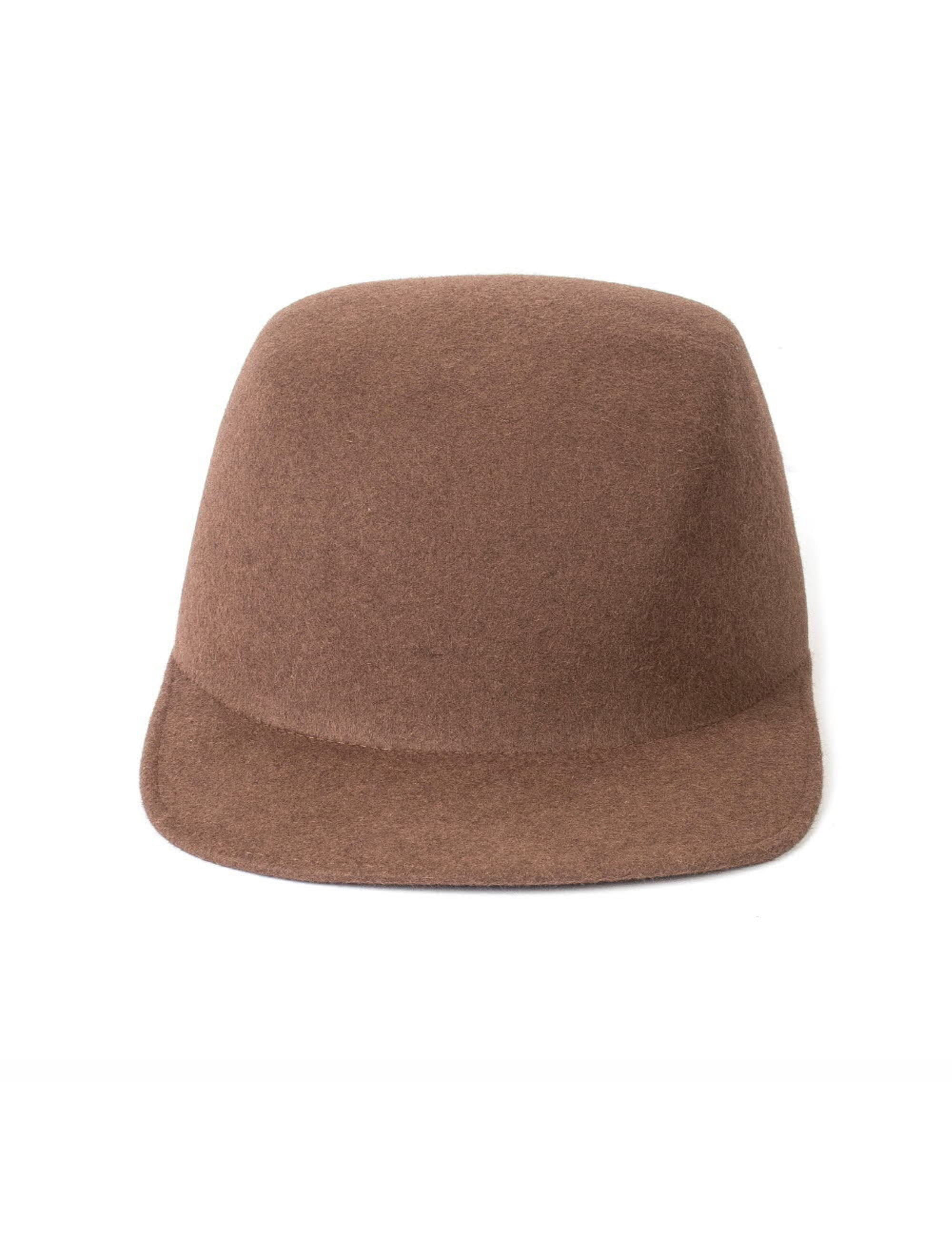 SHARED LAPIN CAMPER CAP_LIGHT BROWN