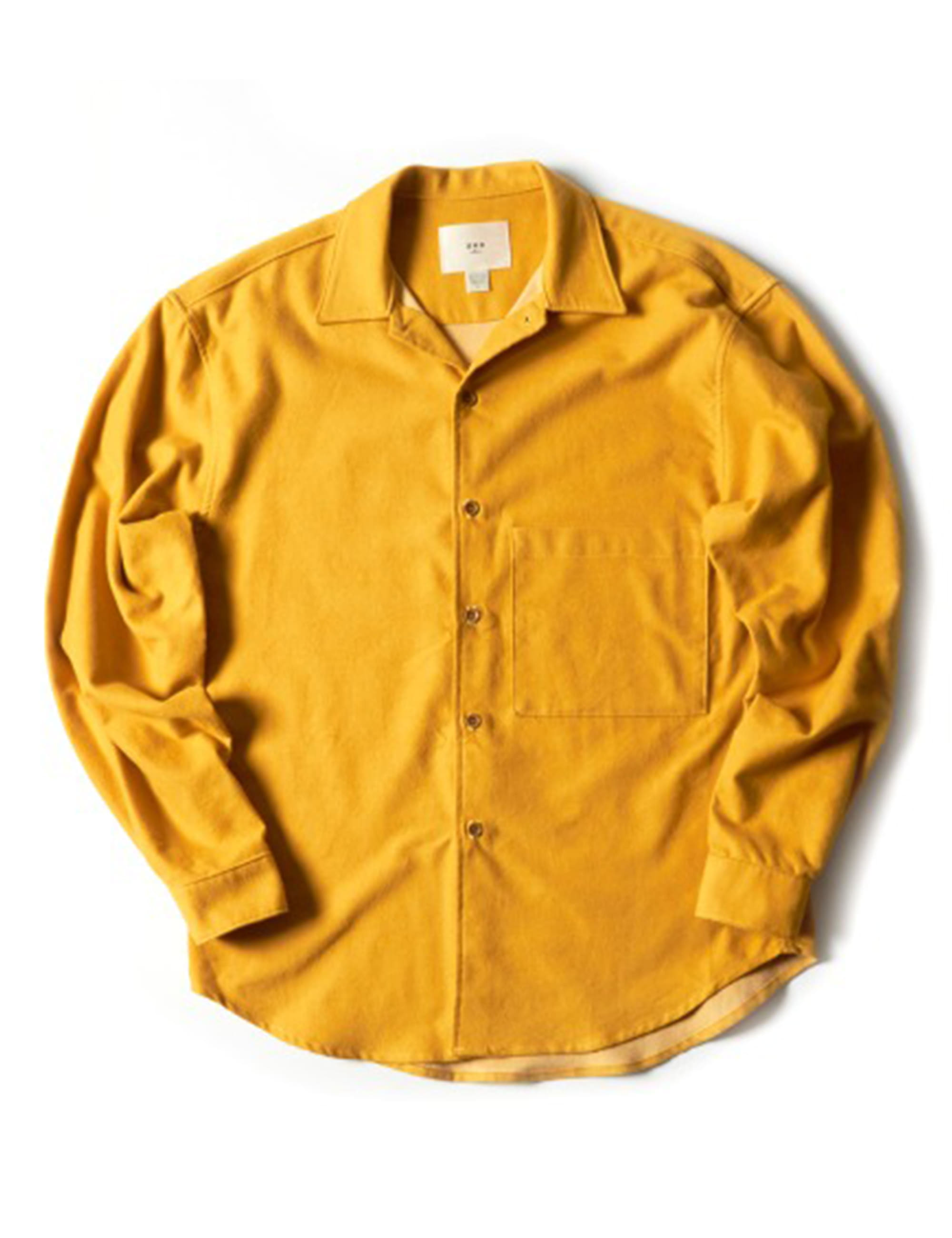 BIG POCKET SHIRT_YELLOW