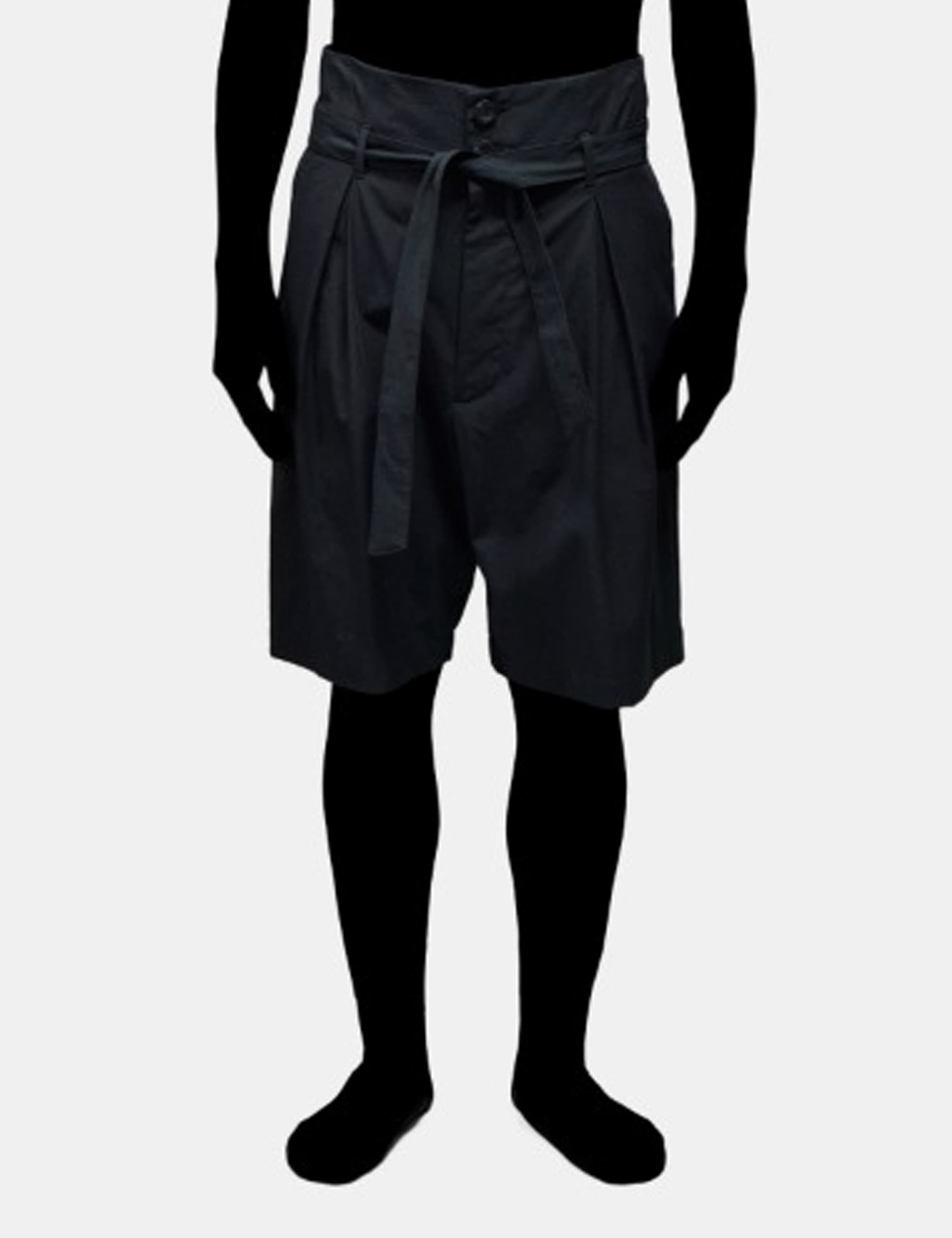 WIDE SHORTS_BLACK