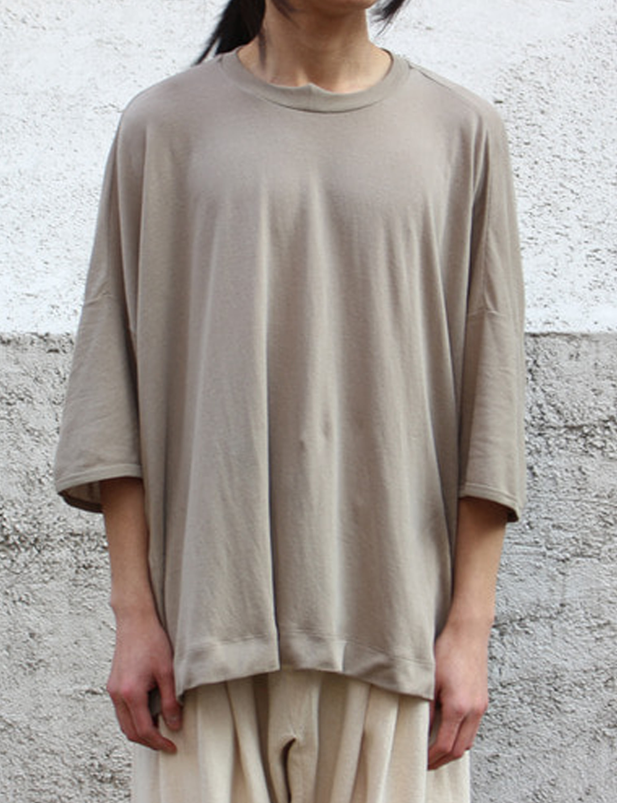 TEE#60_LIGHT GREY WA/CO JERSEY