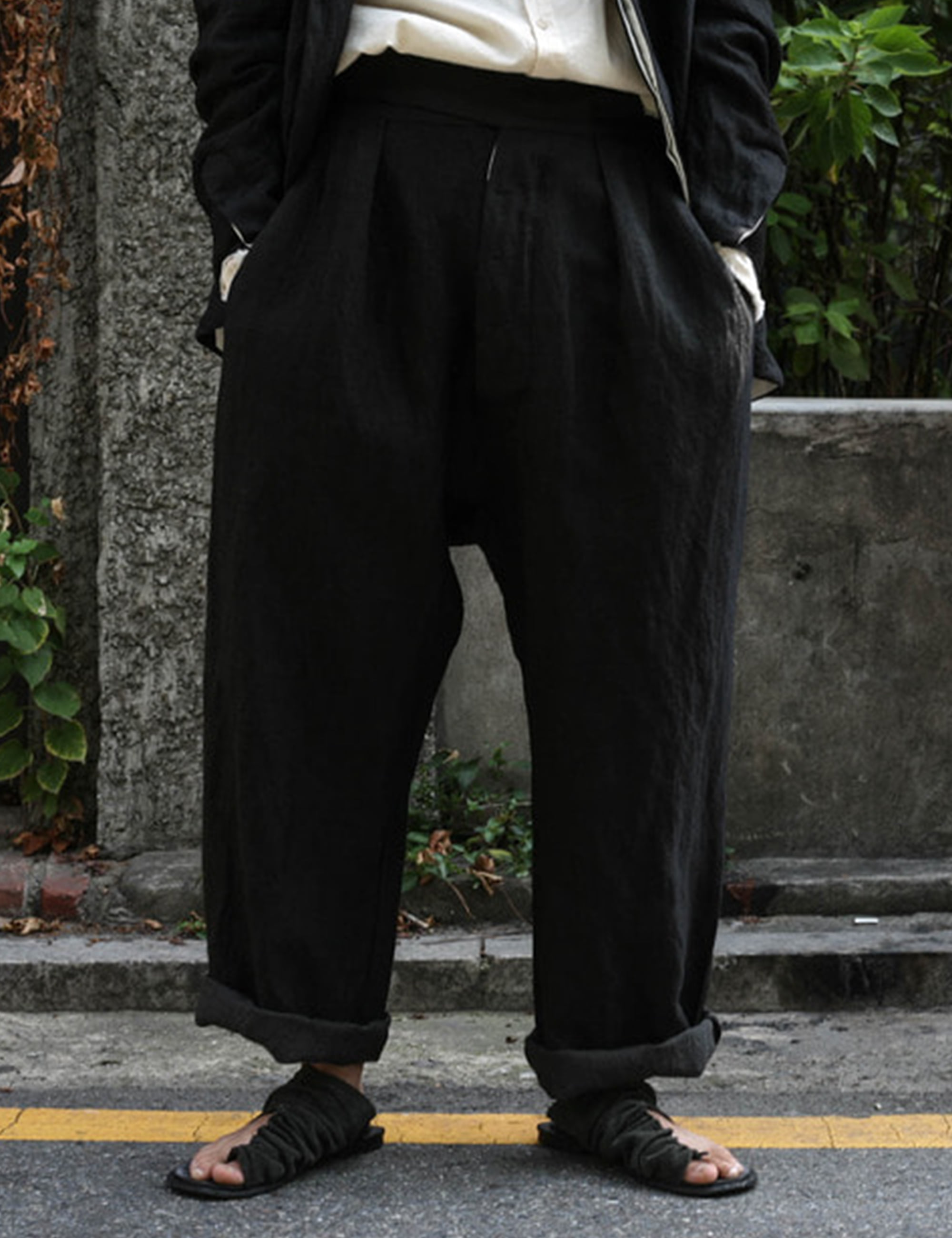 TROUSER BS05_BLACK