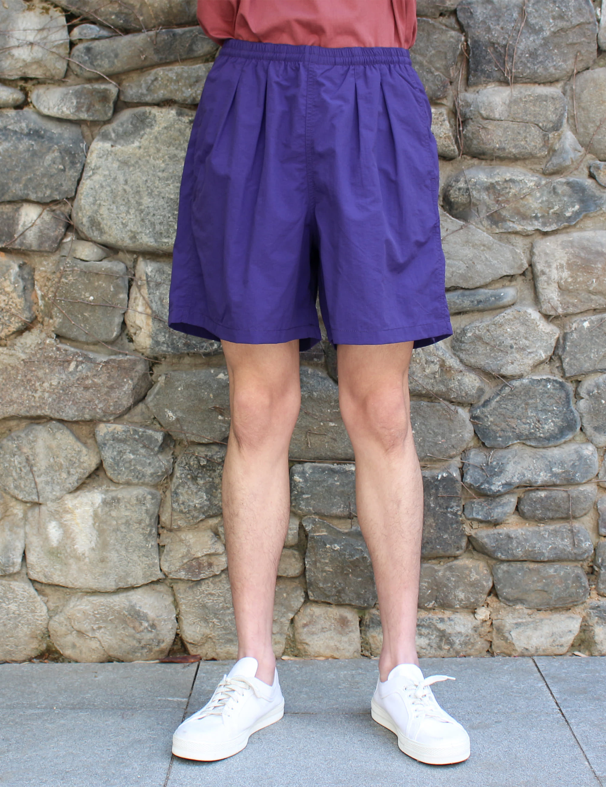 TRACK SHORTS_PURPLE
