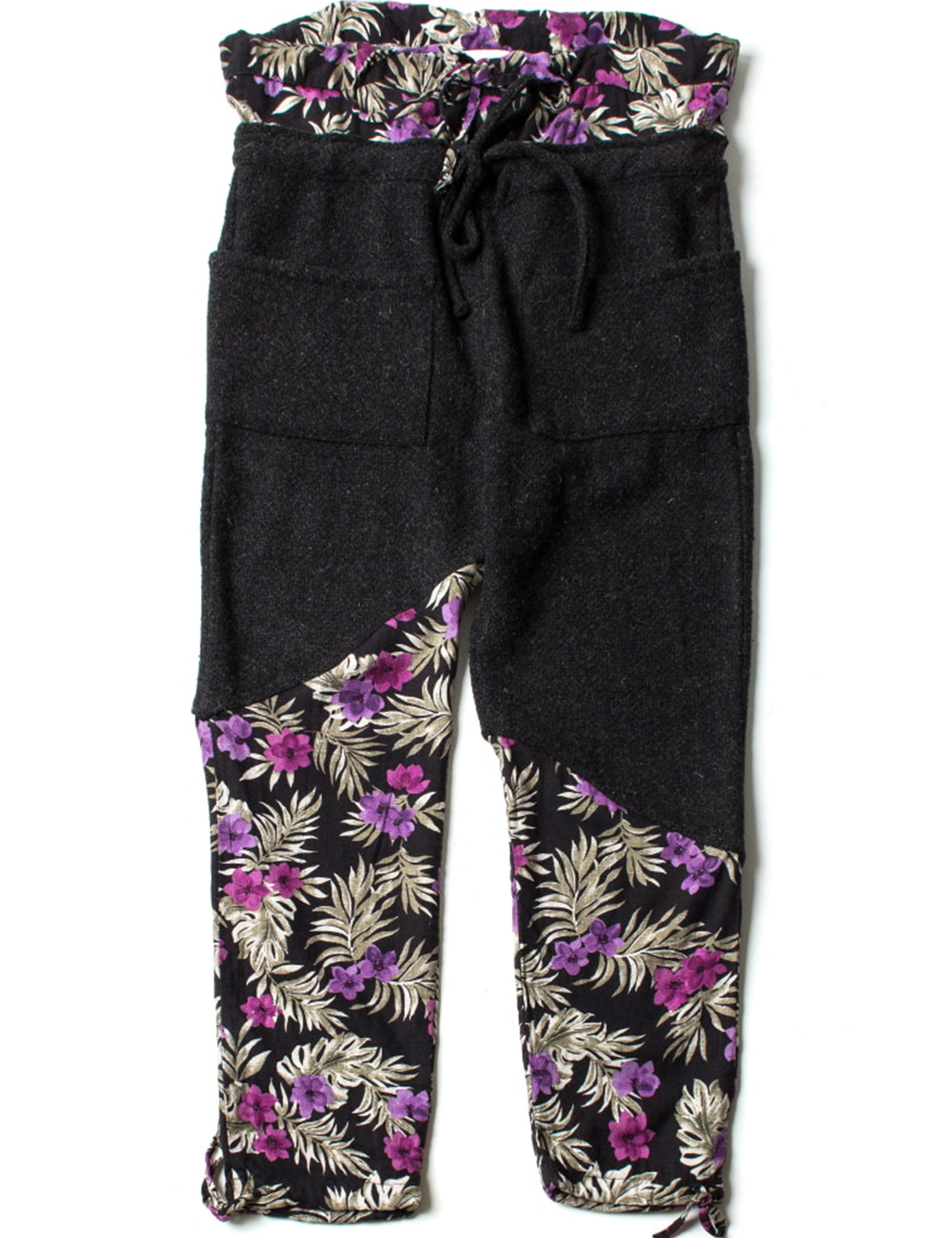 CATCH ALL TROUSER_FLORAL/WOOL
