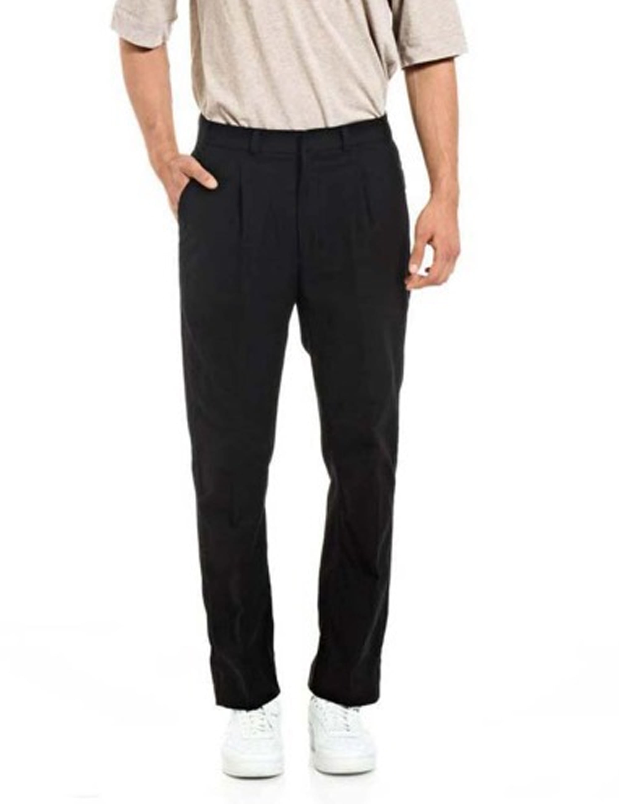 AIRTROUSER WOOL&COTTON_GRAY