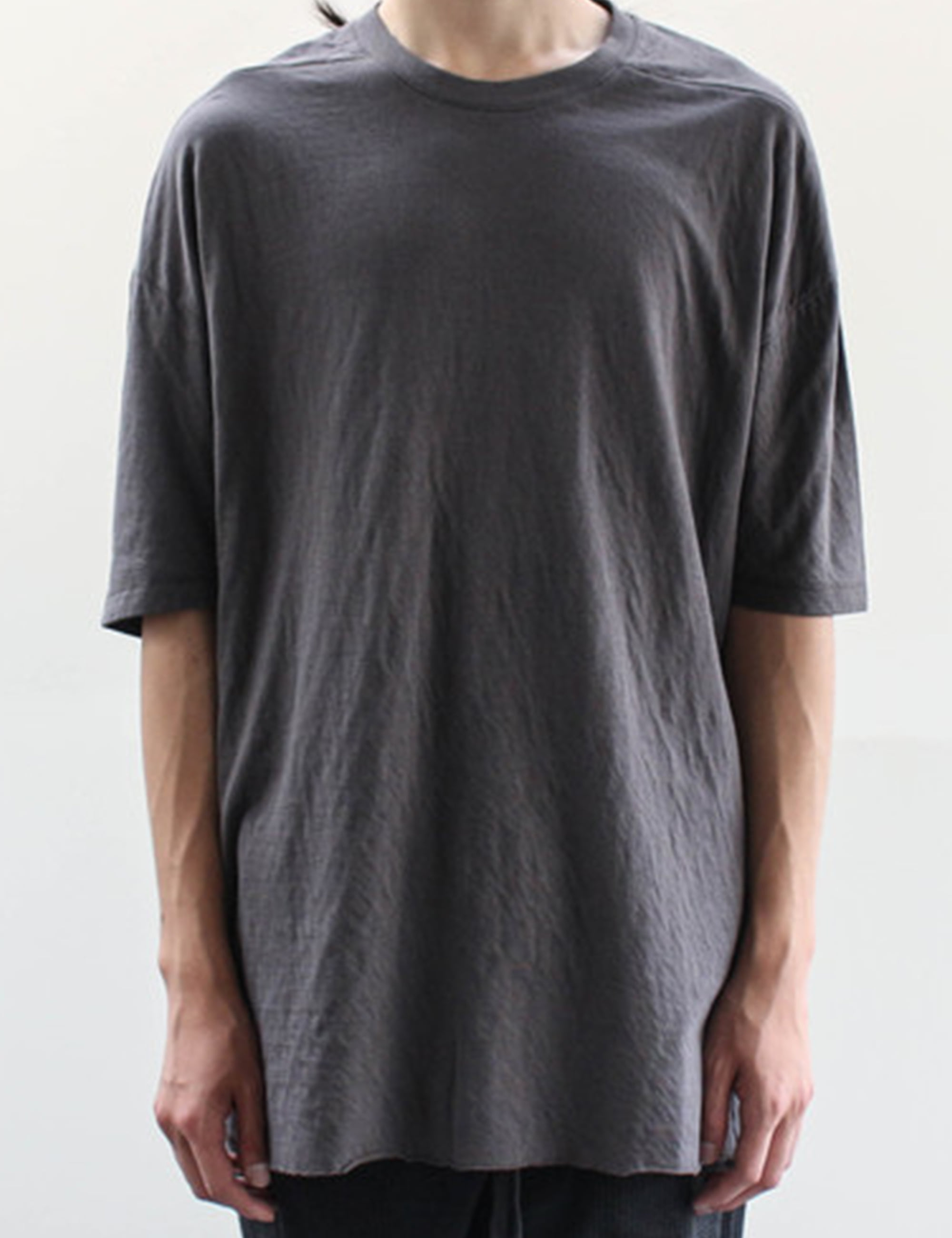 HALF SLEEVE T SHIRT_TAUPE