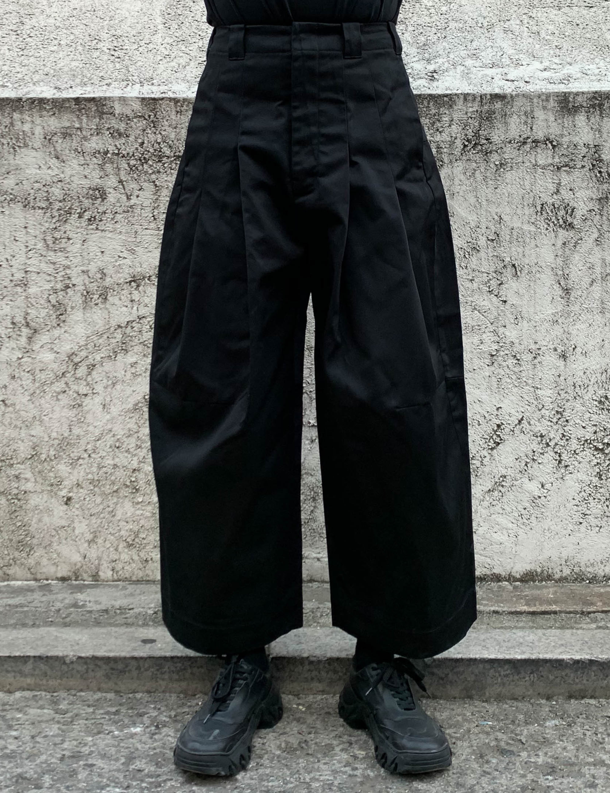 BAGGY WITH DICKIES_BLACK