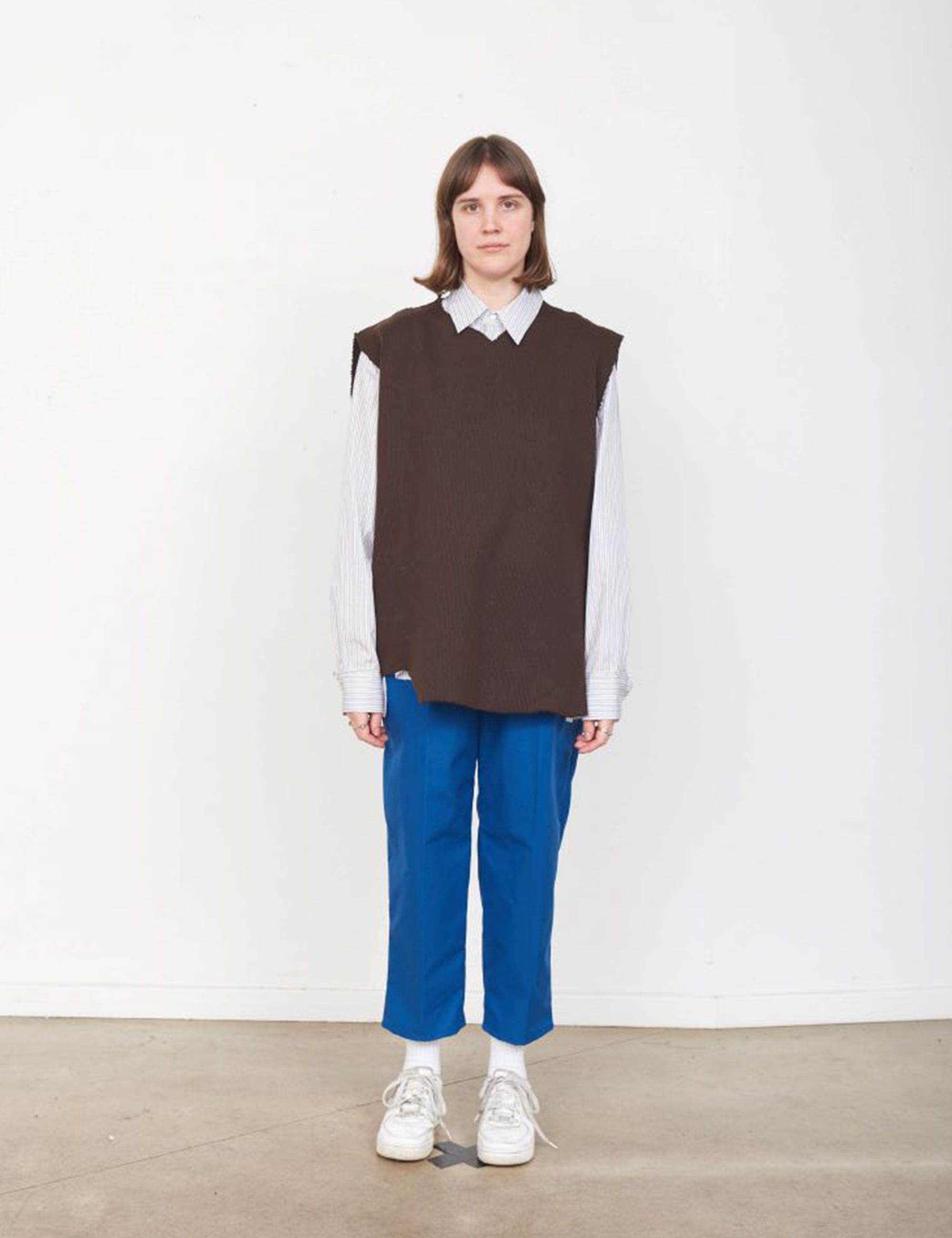 RIB SPENCER COTTON JERSEY_BROWN