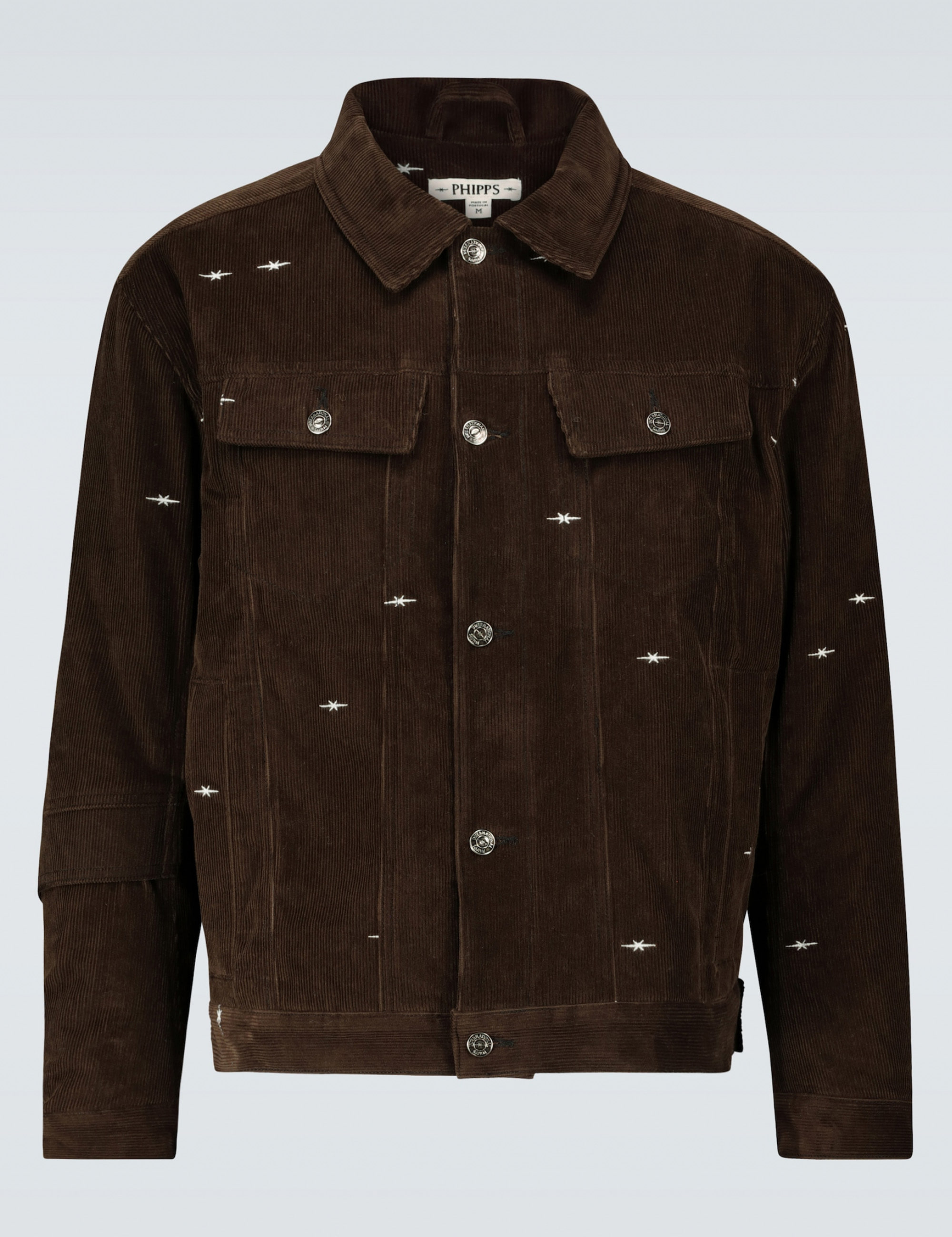 LOGO LOGGING JACKET_BROWN