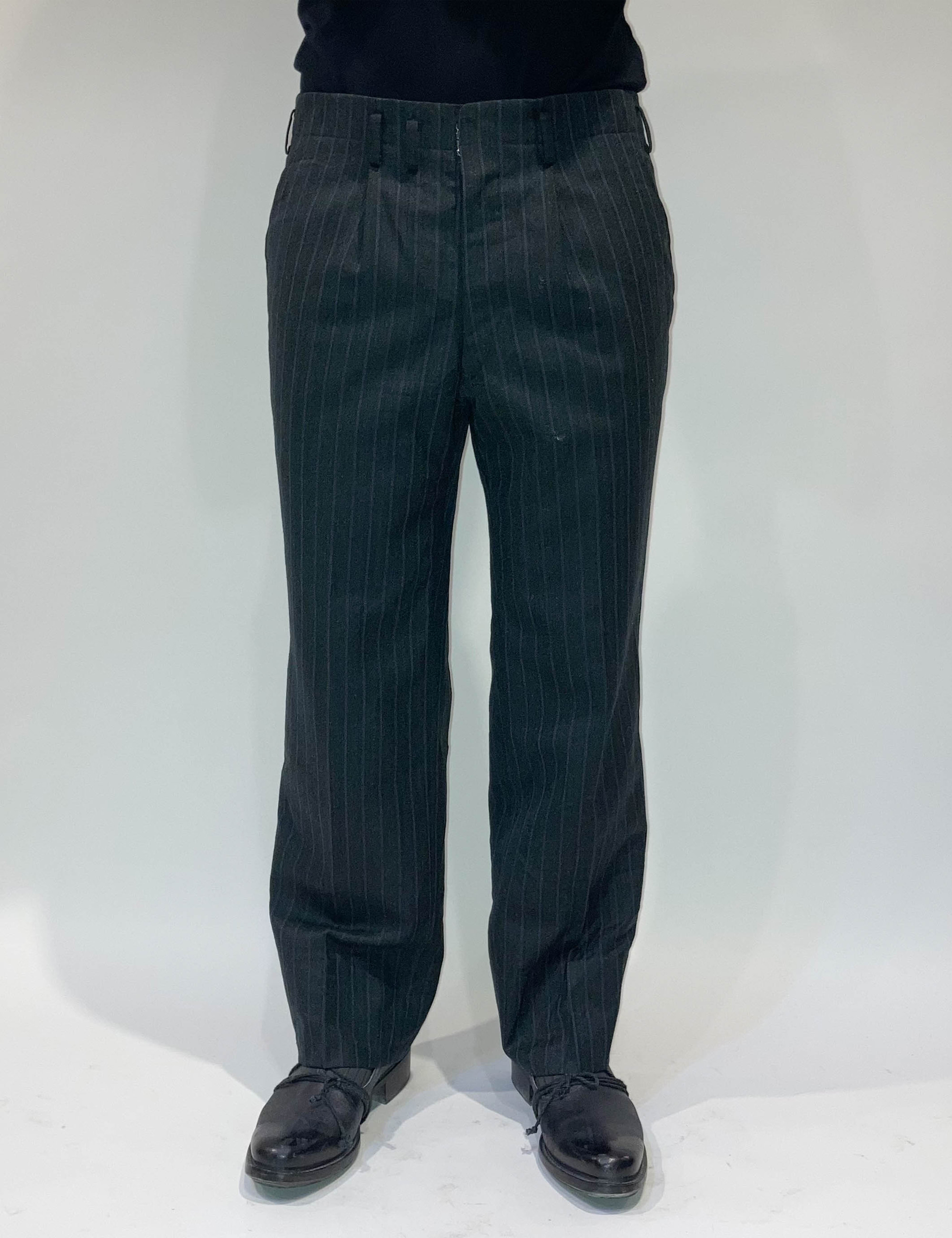 VINTAGE GRAY STIRPE PANTS