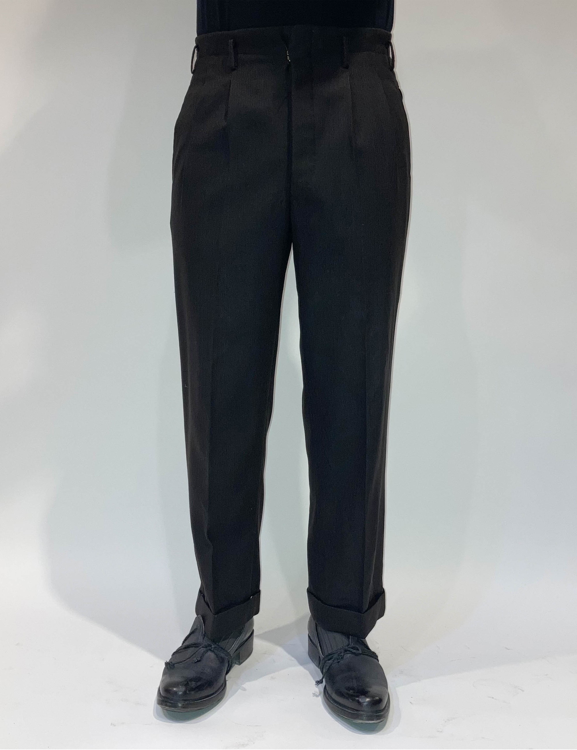 VINTAGE DARK GRAY PANTS