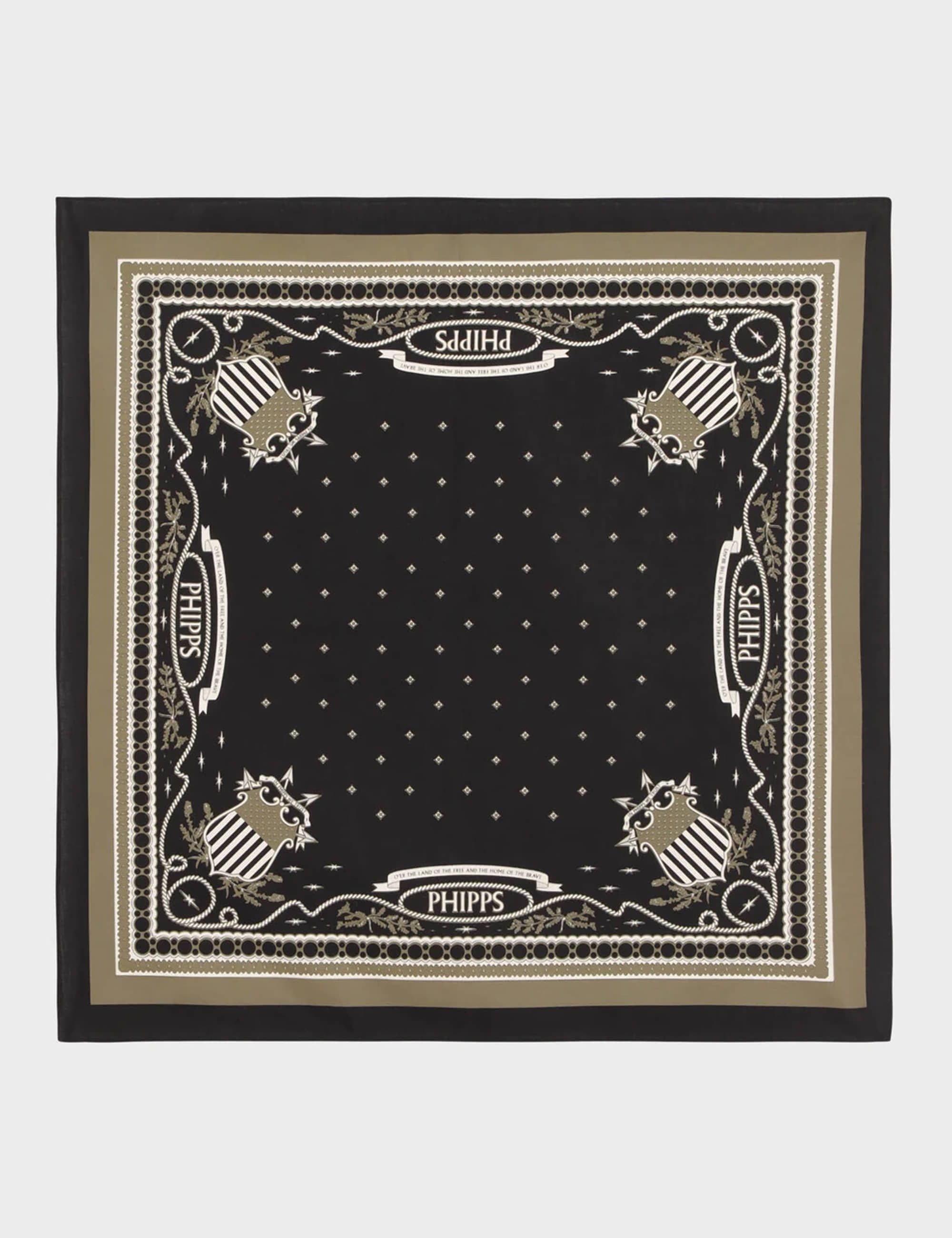 CLASSIC PATRIOT BANDANA_BLACK MULTI