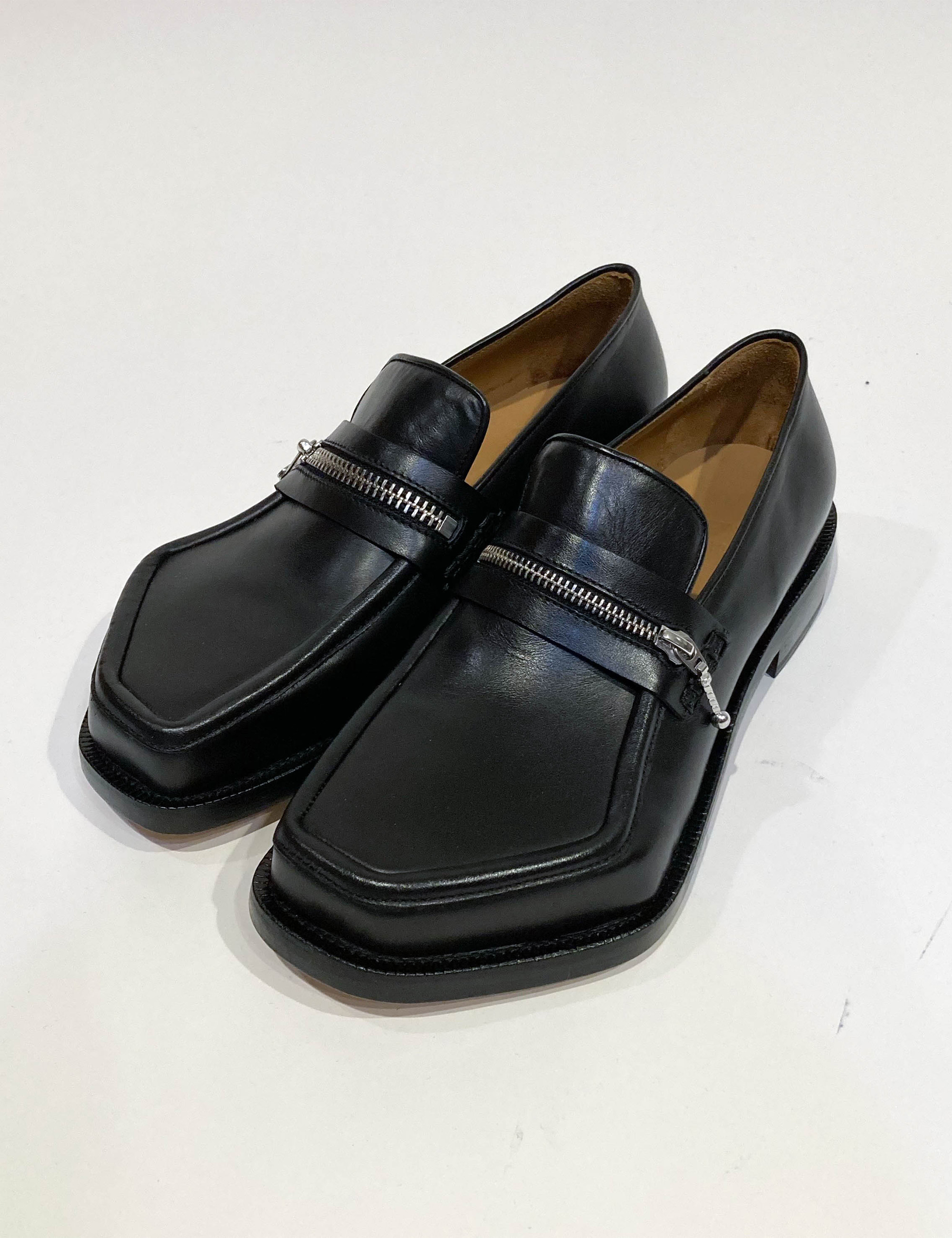 MONSTER LOAFER ZIPPED_BLACK