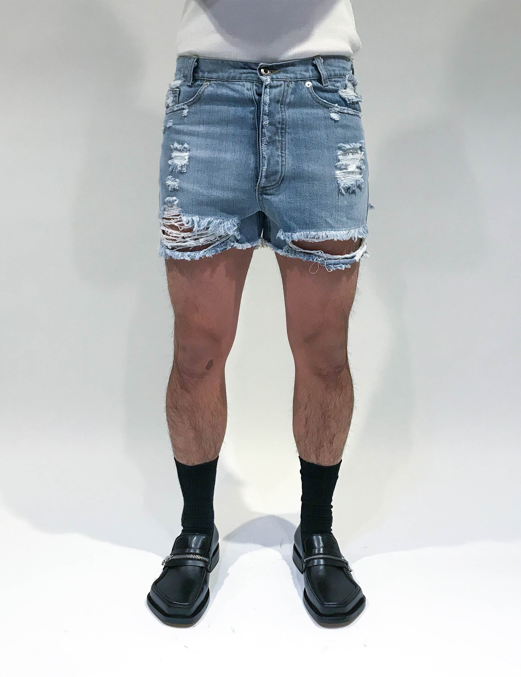 CRUISING SHORTS IN DENIM_LIGHT BLUE