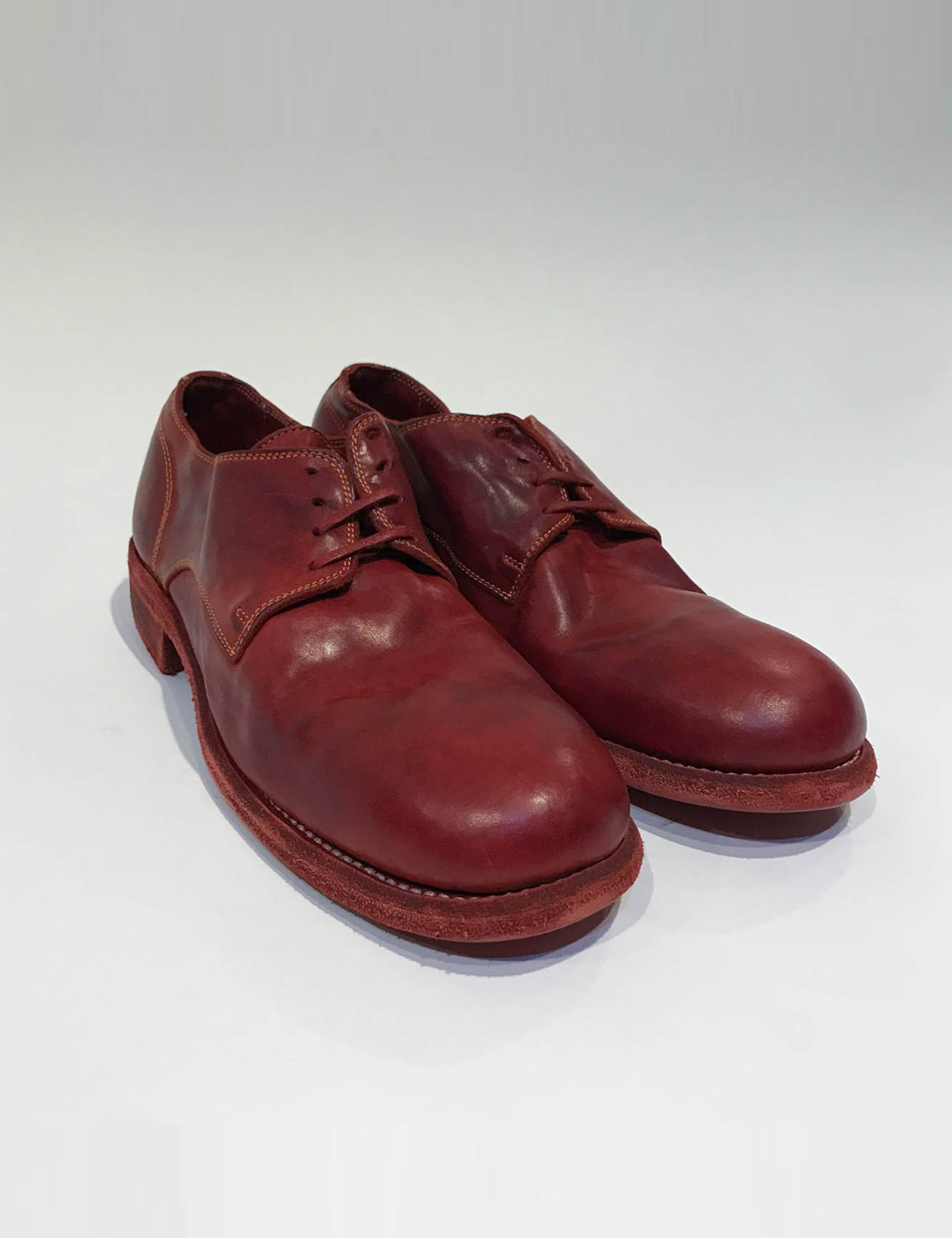 992 CLASSIC DERBY, SOLE LEATHER_RED