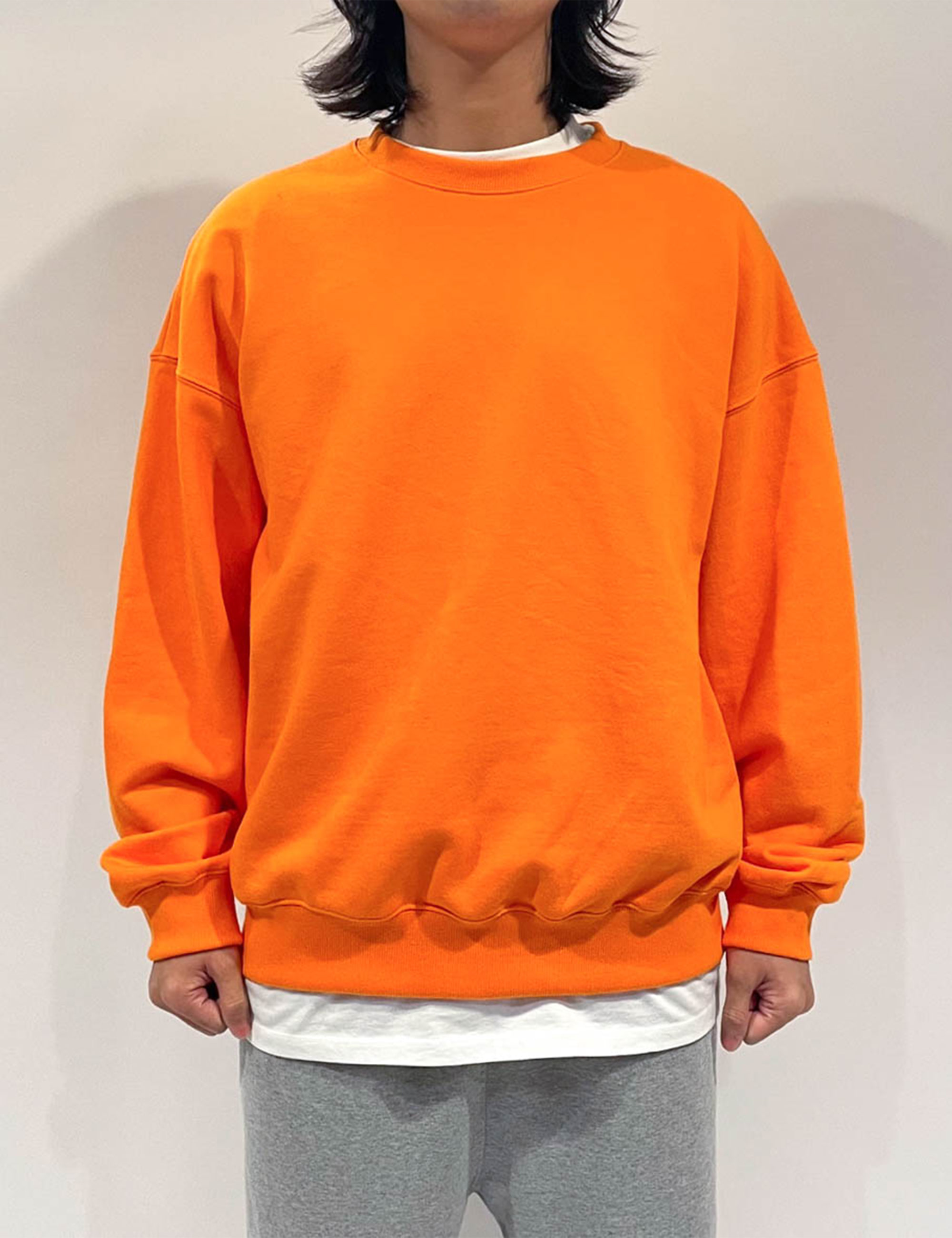 STANDARD SWEAT SHIRT _ORANGE